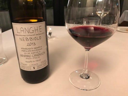 トスカーナの赤ワイン