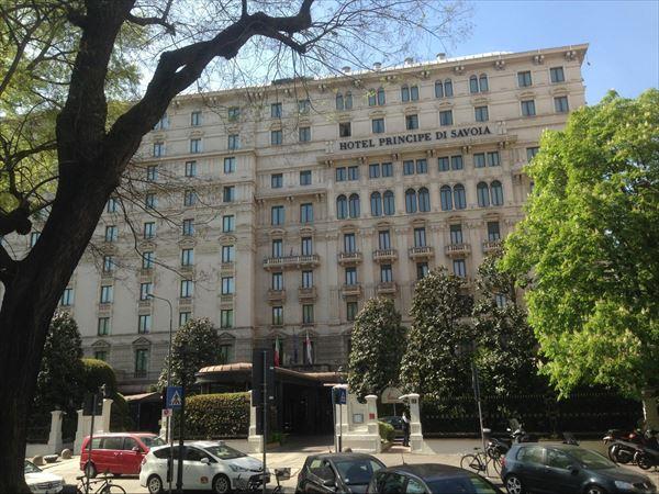 セレブのミラノ定宿 プリンチペ サヴォイア(Hotel Principe Di Savoia)