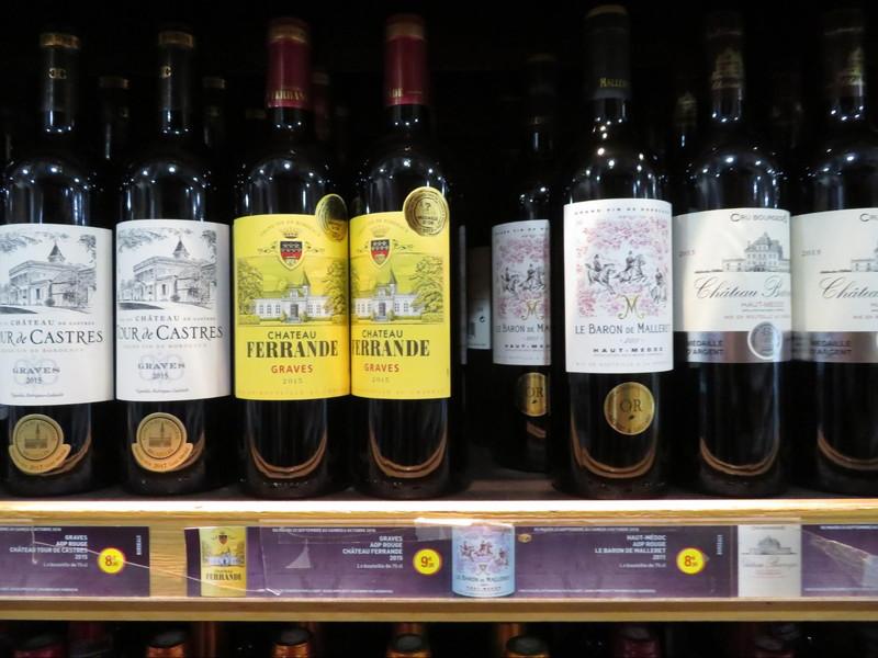 スーパーで一斉に売り出しを始めたコンクールで賞を受賞したワイン