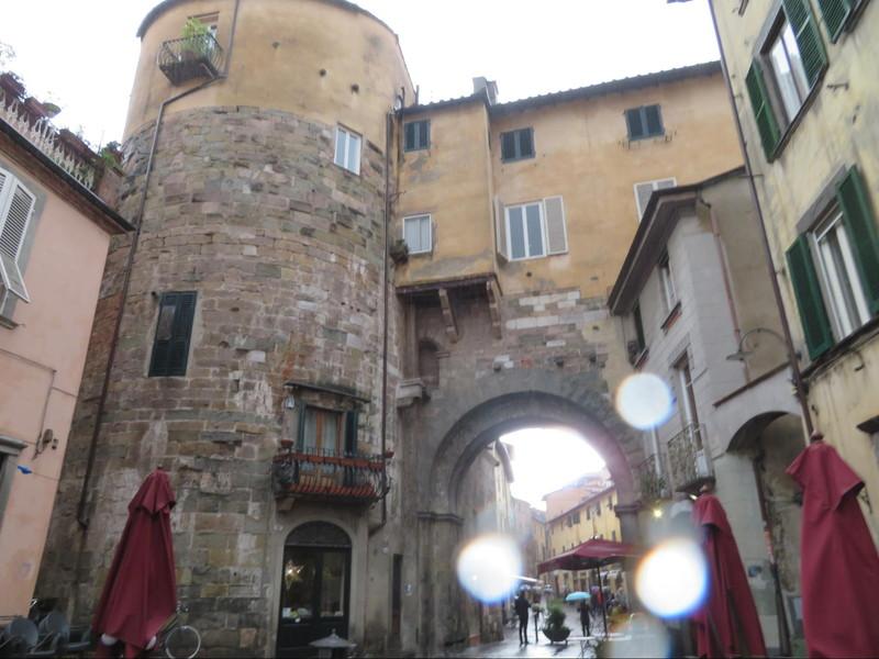 城壁の中の中世の面影が残る場所